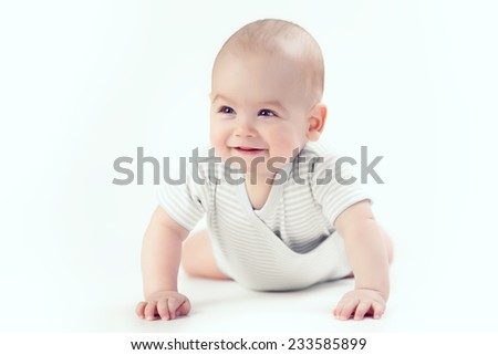 Smile baby - stock photo
