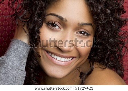 Smiling Black Girl