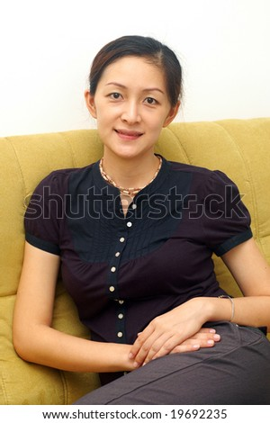 Smiling Chinese Lady