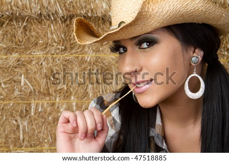 Smiling Country Girl