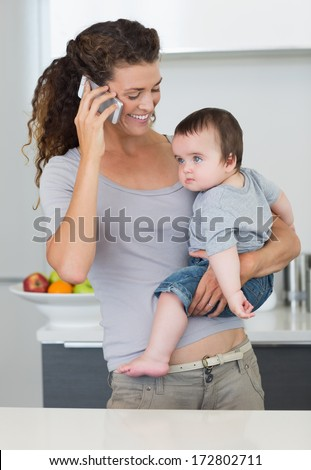Woman Carrying Baby Stock Images Royalty Free Images