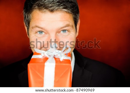 smiling portrait - stock photo