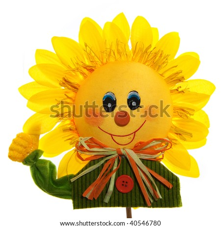 Smiling Sunflower Images Smiling Sunflower With Hand