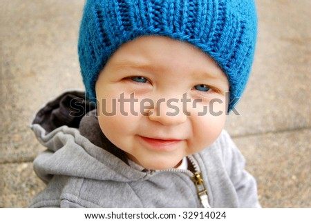 Smiling Toddler - stock photo