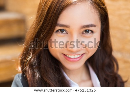 Smiling Young Businesswoman Portrait