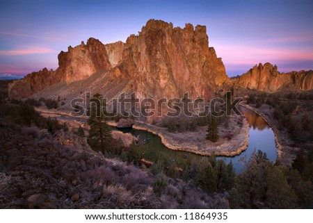 Smith Rock - stock photo