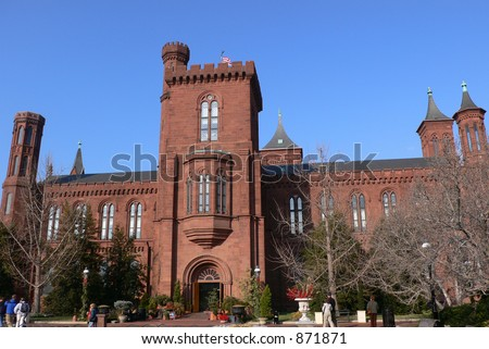 Smithsonian - stock photo