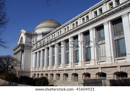 Smithsonian national museum of natural history - stock photo