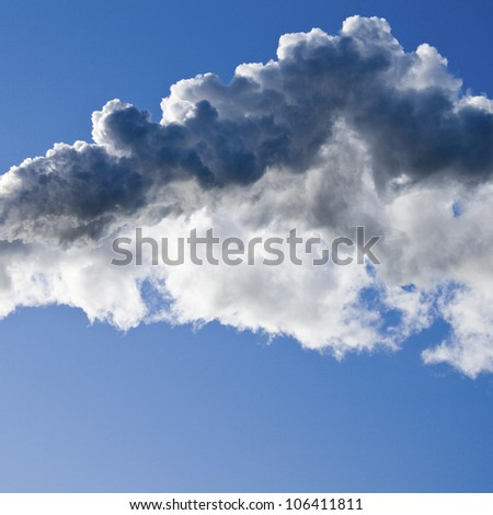 Smog, Co2 global warming. - stock photo