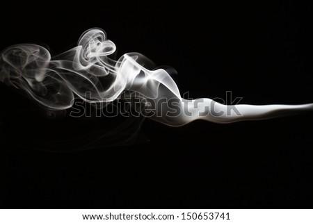 Smoke abstract - stock photo