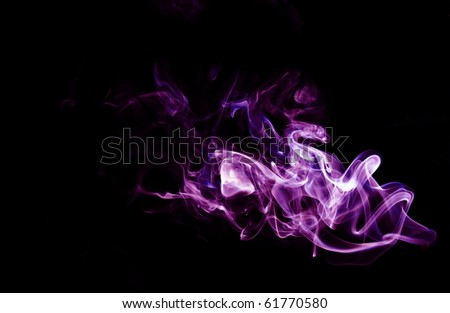 smoke abstract - stock photo