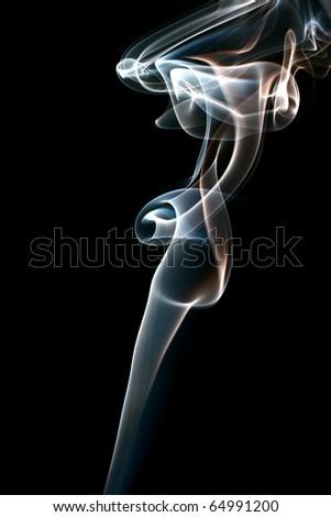 smoke abstract background - stock photo