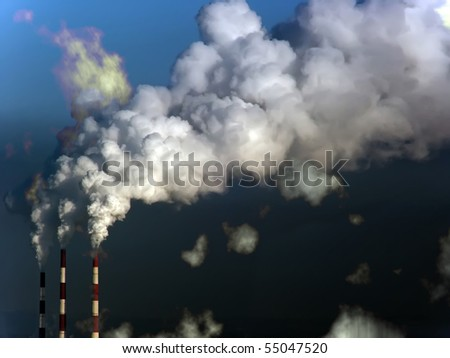 Smoke  atmosphere  emission