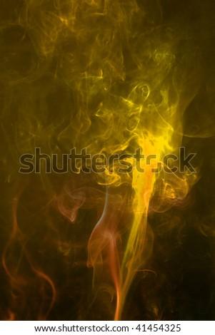 smoke background - stock photo