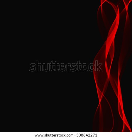 Smoke background. Rasterized Copy. - stock photo
