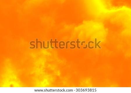 Smoke Pollution - stock photo