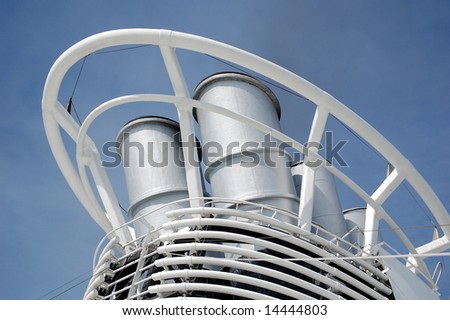Smoke Stack - stock photo