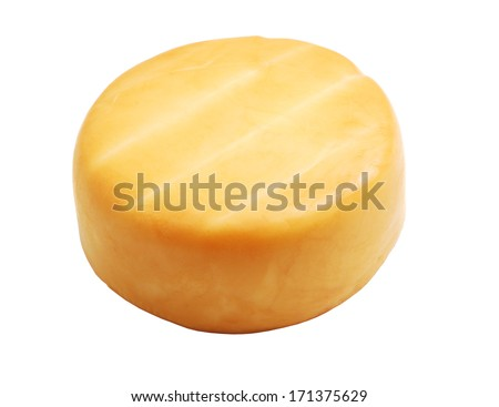 smoked cheese - stock photo