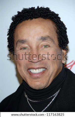 """Smokey Robinson at the """"Celebrate Mary J. Blige"""" Party Hosted by Jada and Will Smith. Boulevard 3, Hollywood, CA. 02-09-07 - stock photo"""