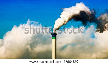 Smoking chimney