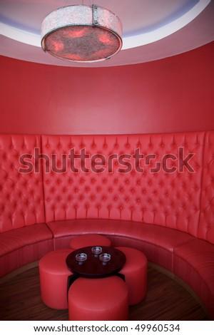 Smoking lounge - stock photo