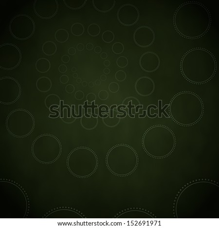 Smoky black  waved design 3d graphic with waved circle label  on vintage background