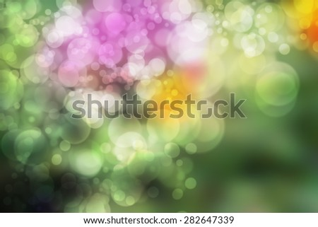 Smooth abstract colorful background with beautiful glitter twinkling bokeh