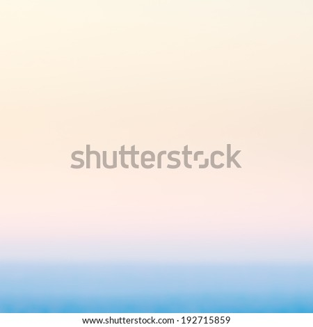 Smooth abstract gradient background in pastel colors. Defocused abstract texture background, horizont.  - stock photo