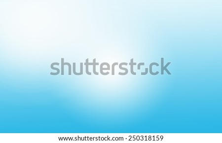 smooth blue abstract background - stock photo