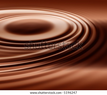 smooth chocolate swirl
