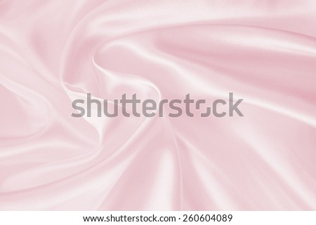 Smooth elegant pink silk can use as background   - stock photo