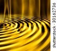 Smooth Gold Ripples - stock photo