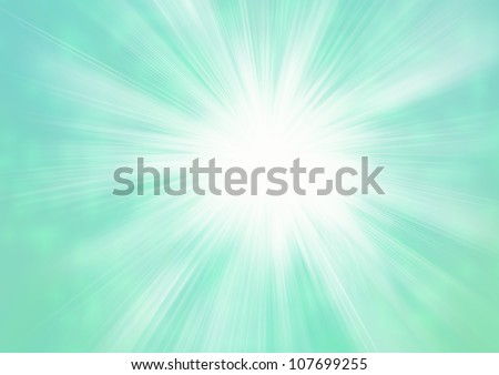 Smooth green abstract background - stock photo