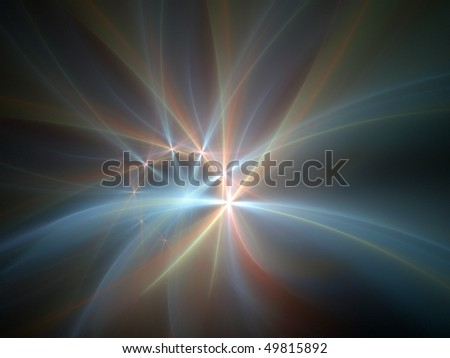 Smooth Laser - stock photo