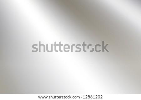 Smooth Metal Plate - stock photo