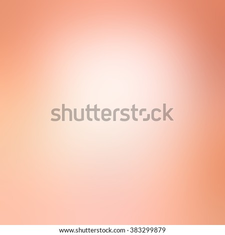 smooth pink background with white center blur - stock photo