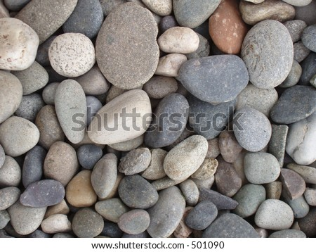Rock landscaping stock photos images pictures for Smooth stones for landscaping