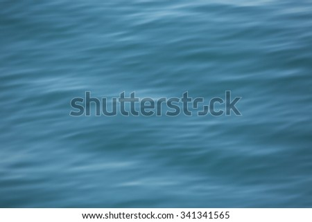 smooth sea water