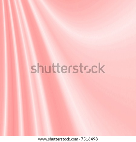 Smooth Soft Pink Satin Background - stock photo
