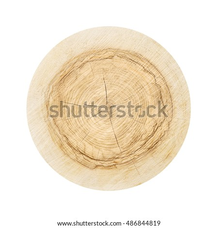 Smooth warm wavy wood texture background isolated on white
