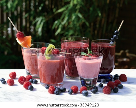 Smoothie - stock photo