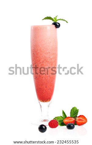 smoothie cocktail
