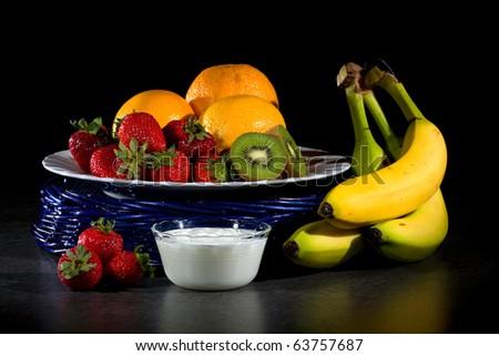 Smoothie Ingredients - stock photo