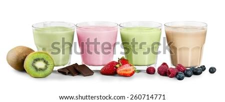Smoothie, Juice, Fruit. - stock photo