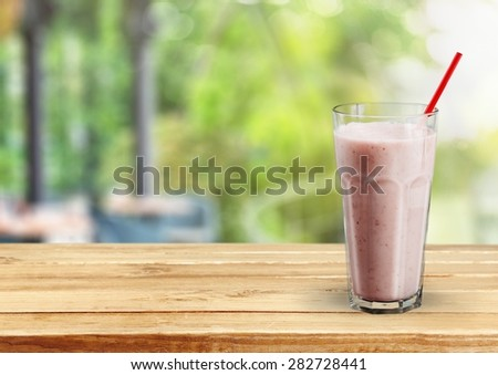 Smoothie, Milk Shake, Breakfast.