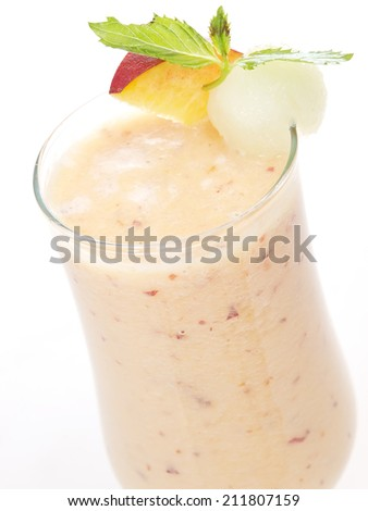 Smoothie with Melon