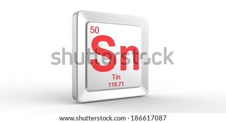 Sn symbol 50 material tin chemical stock illustration 186617087 sn symbol 50 material for tin chemical element of the periodic table urtaz Images