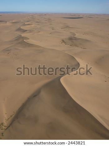 Snake Dunes - stock photo