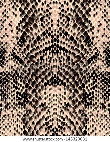 Snake skin, background - stock photo