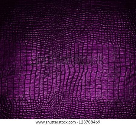 snake skin purple - stock photo